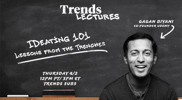 Growth Lessons from Gagan Biyani, Co-Founder of Udemy